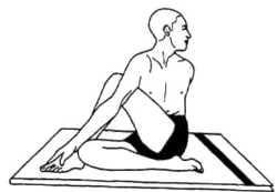 Гималайская йога и здоровье Матсиендрасана