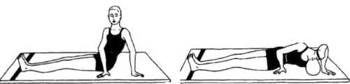 Бхунаманасана (поза поворота спины)
