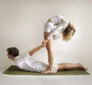 Основные асаны парной йоги Кобра с двойным прогибом