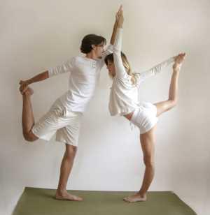 Основные асаны парной йоги Парная Натараджасана