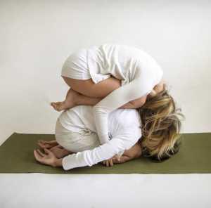 Основные асаны парной йоги Парная поза ребенка