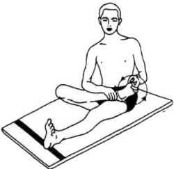 Антиревматические упражнения (Паванмуктасана 1)