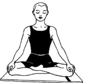 Сиддха-йони-асана (совершенная поза для женщин)