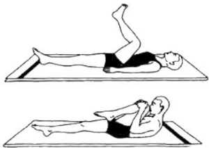 Антигастритные упражнения (Паванмуктасана 2)