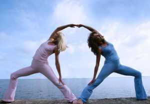 Парнаяйога(йога с партнером)